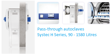 autoclave double door