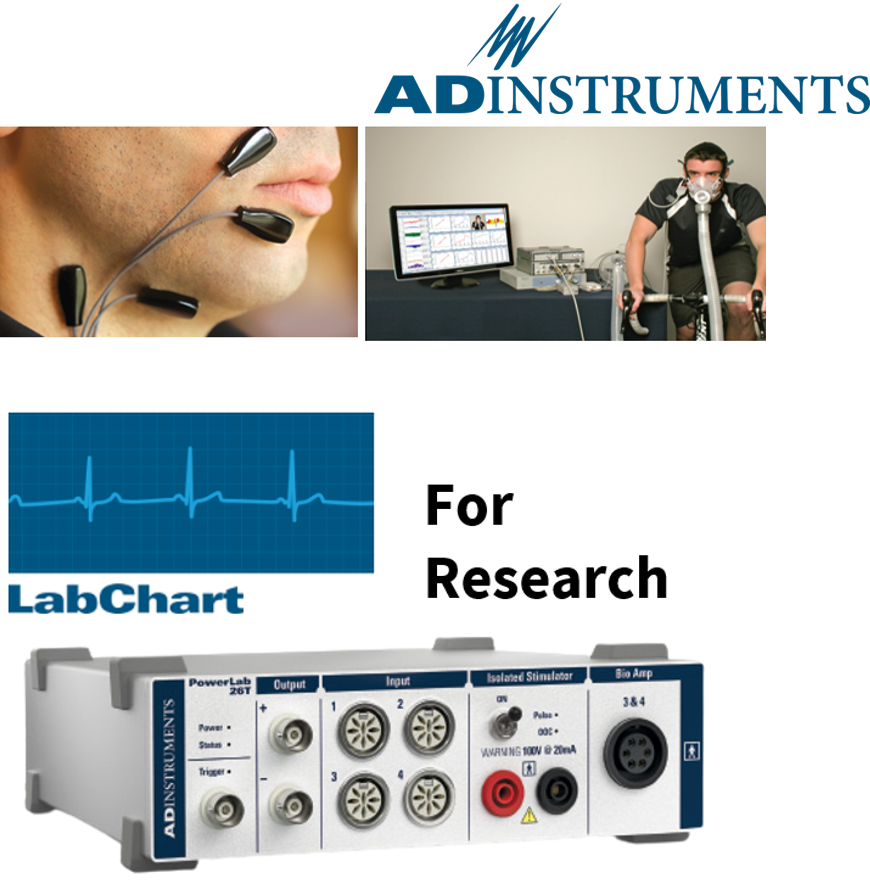 Physiological Data Acquisition for Research