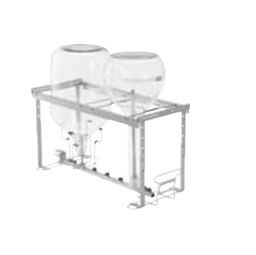 Module for big glassware
