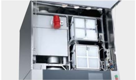 •Two drying units for optimum drying results •HEPA H14 filter for the ultimate in safety