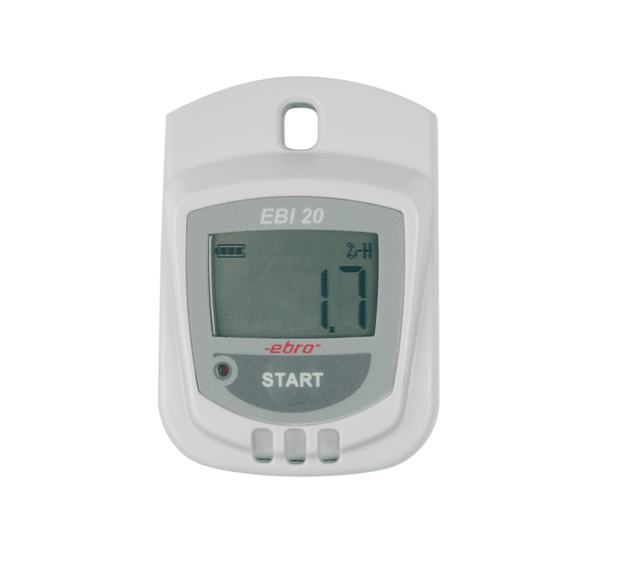 Thermohygro data logger for monitoring temperature and humidity
