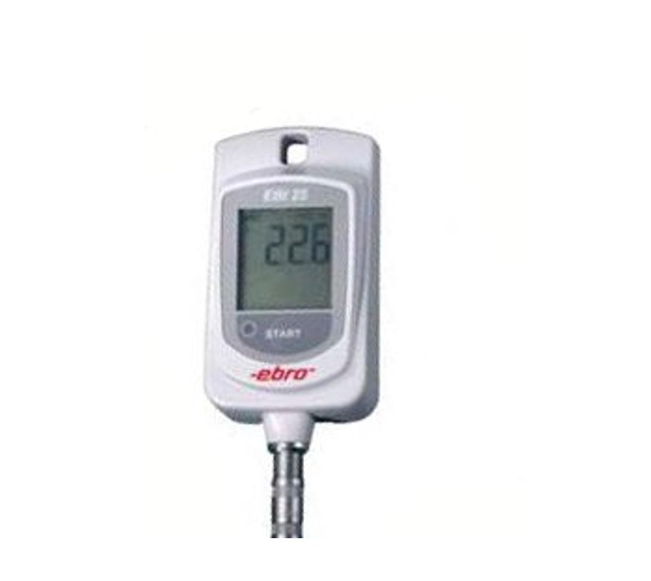 for high and low temperatures For transport and storage monitoring. • Continuous monitoring