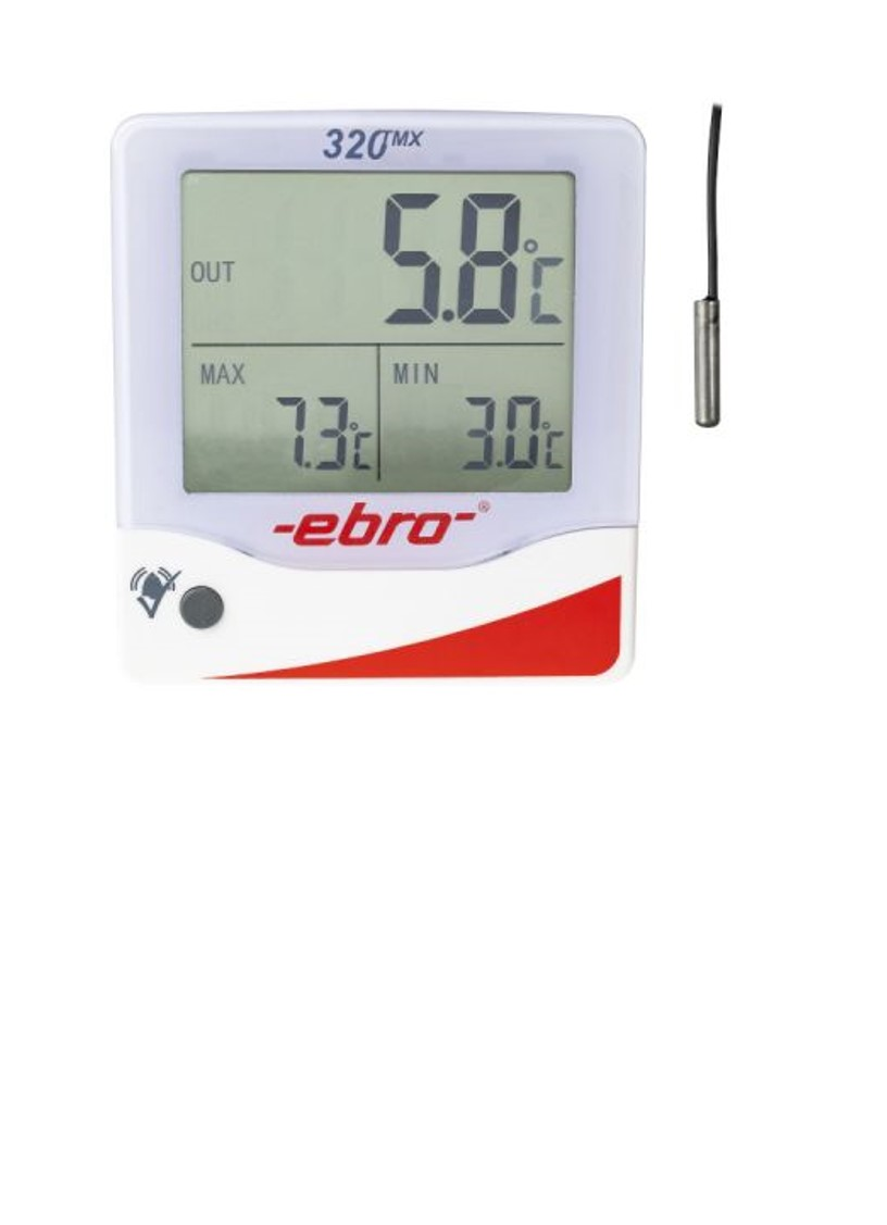 Refrigerator thermometer for monitoring all refrigerators, medicines and vaccines, for the storage of chemicals, of greenhouses, of blood banks, of food and beverages as well as for the monitoring of storage facilities.